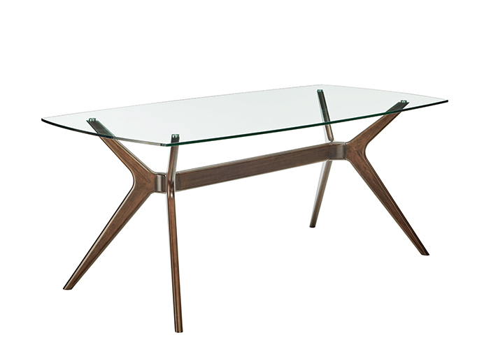 Pedestal Fix Dining Table Glass Top Iwvn Furniture Home - How To Attach Glass Table Top Legs